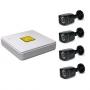 Комплект видеонаблюдения FOX TVR K-4.4 TVI/CVI/AHD 2.0 MPIX, IPC